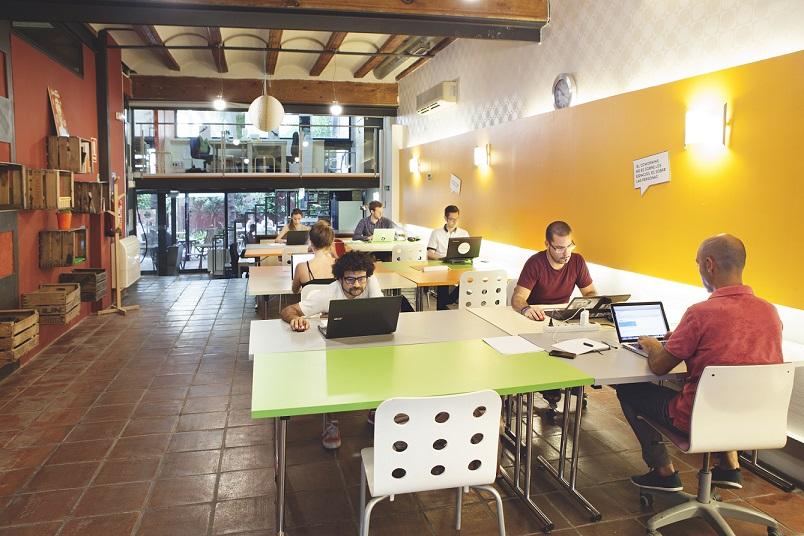 Emprendedores, del Home Office al Co Working