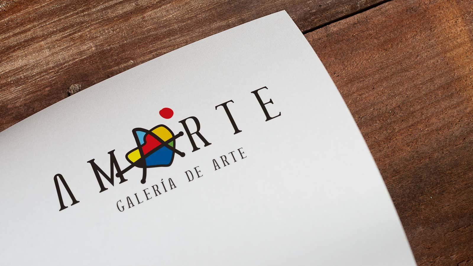 Branding Galería Amarte
