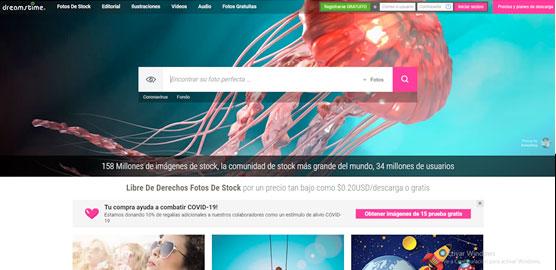 Dreamstime - Las mejores webs para descargar imágenes gratis