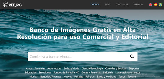 FreeJPG - Las mejores webs para descargar imágenes gratis